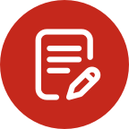 FAQ Section icon Icon Onboarding Terms Red@2X